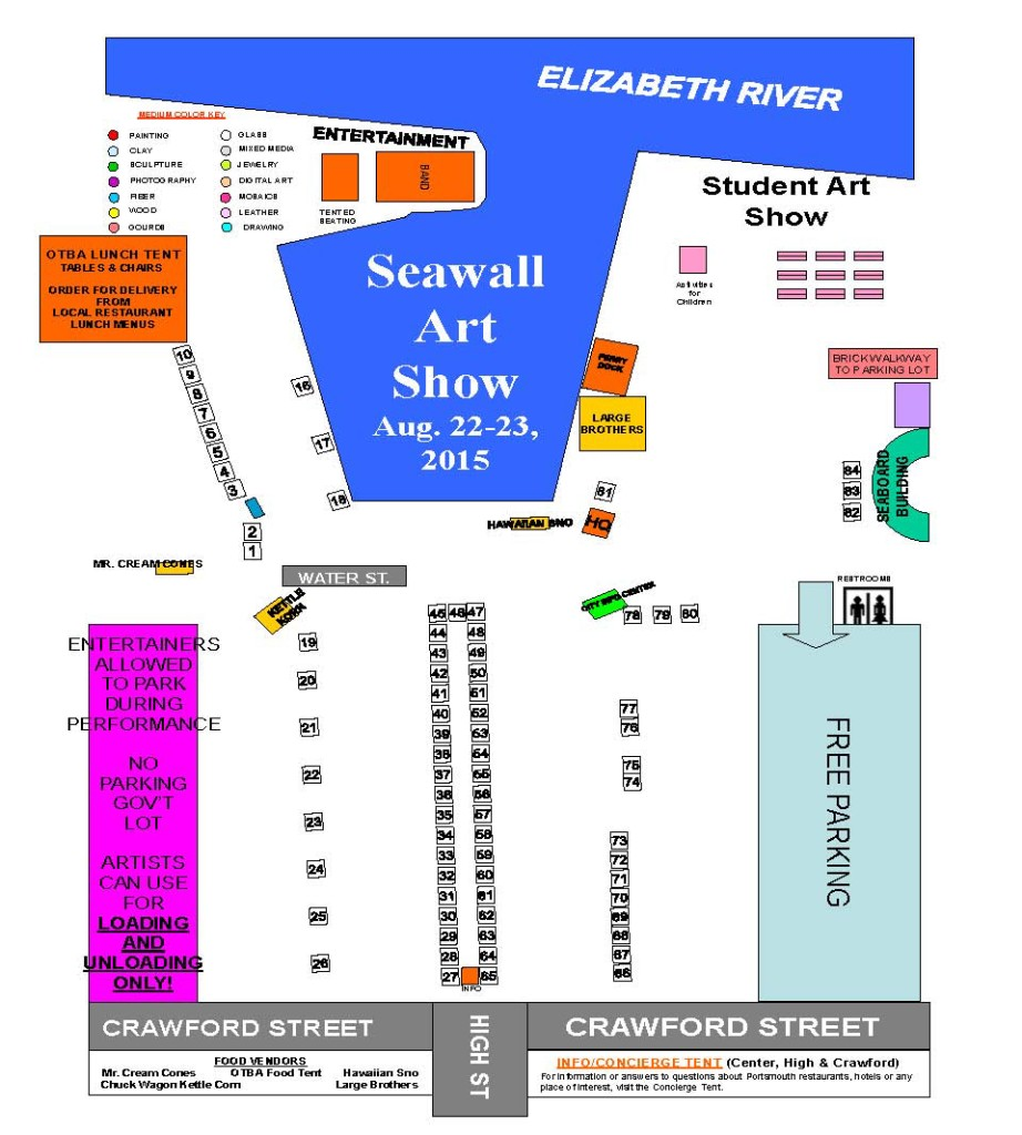 2015 seawall location map numbers only